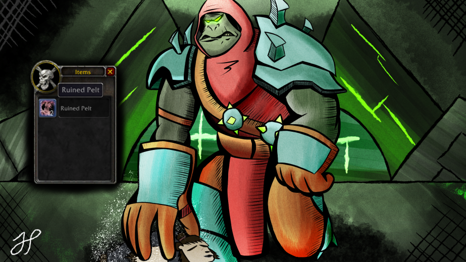Drew it: Imonar theSoulhunter