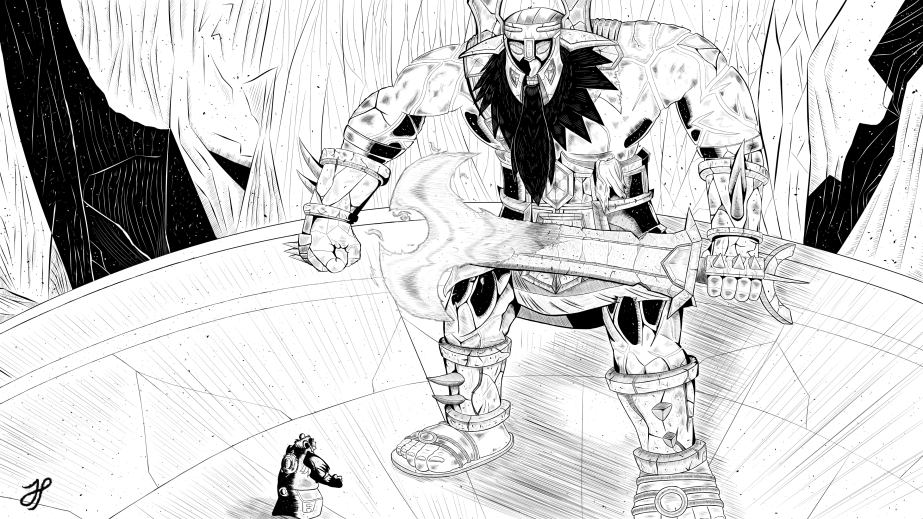 Drew It: Aggramar (No Colour)